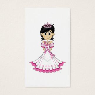 Cute Royal Princess Bookmark Business Card