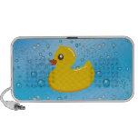 Cute Rubber Ducky/Blue Bubbles Speaker