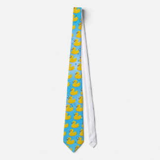 Cute Rubber Ducky/Blue Bubbles Tie