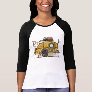 Cute RV Vintage Teardrop  Camper Travel Trailer T Shirts
