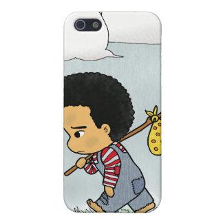 Cute Sad boy Case For iPhone 5