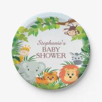 Cute Safari Jungle Baby Shower 7