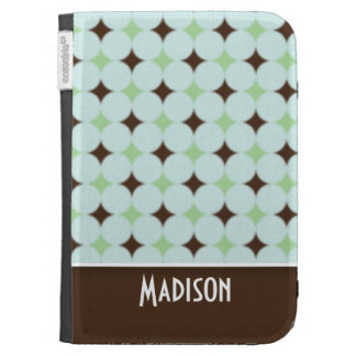Cute Sage Green Brown Cases For Kindle
