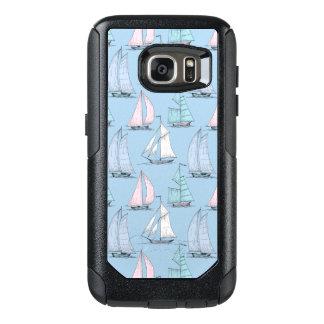 Cute Sailboat Pattern 1 OtterBox Samsung Galaxy S7 Case