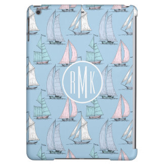 Cute Sailboat Pattern | Monogram