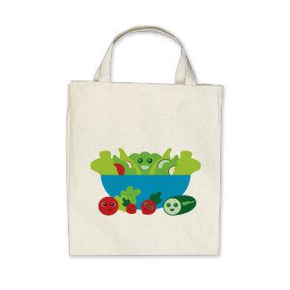Cute Salad Canvas Bags