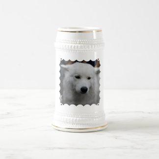 Cute Samoyed  Beer Stein Mugs