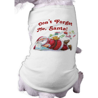 Cute Santa Christmas Dog t-shirt