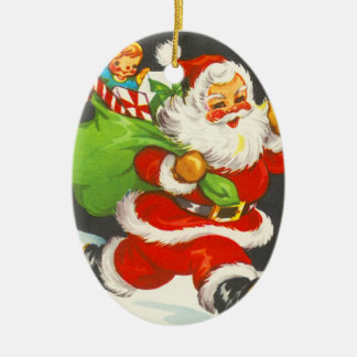 Cute Santa Christmas Ornament