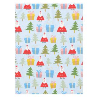Cute Santa Christmas Pattern Tablecloth