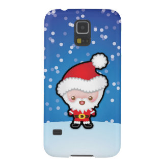 Cute Santa Claus Christmas Samsung Galaxy S5 Case