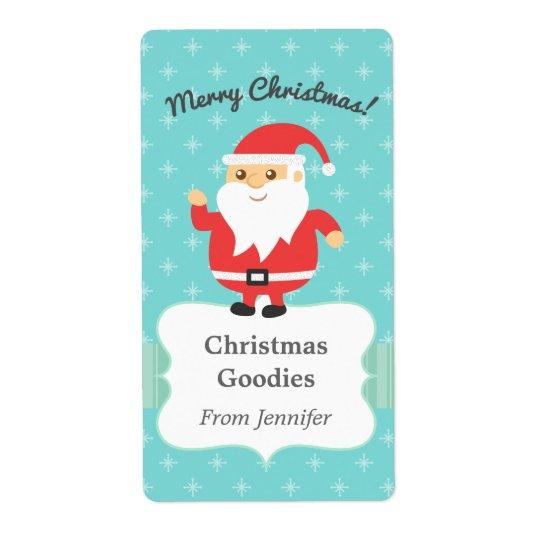 Cute Santa Claus Jolly and Merry Christmas