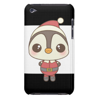 cute santa claus penguin character iPod touch Case-Mate case
