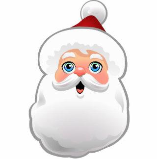 Cute Santa Claus Photo Sculpture Decoration