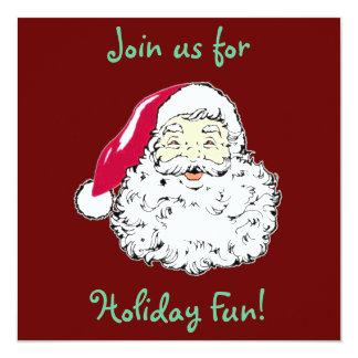 Cute Santa Clause Invitations