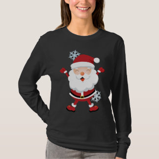 Cute Santa Shirt - Teens & Womens sizes
