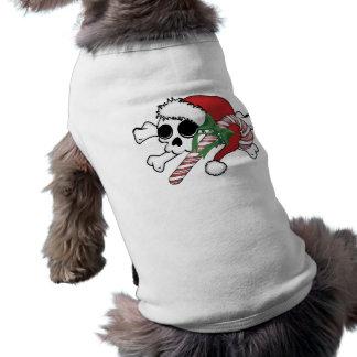 Cute Santa Skull Shirt
