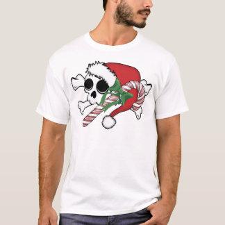 Cute Santa Skull T-Shirt