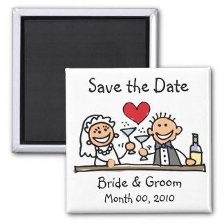 Cute Save the Date Magnets