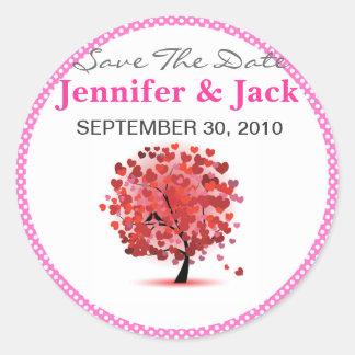 Cute Save the date Sticker