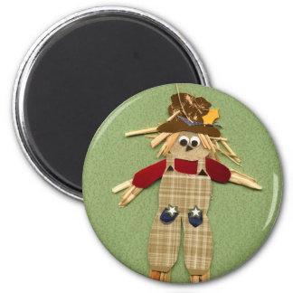 Cute Scarecrow Magnet
