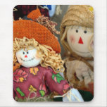 Cute Scarecrows Mouse Pad