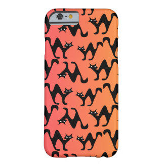 Cute scared cats barely there iPhone 6 case