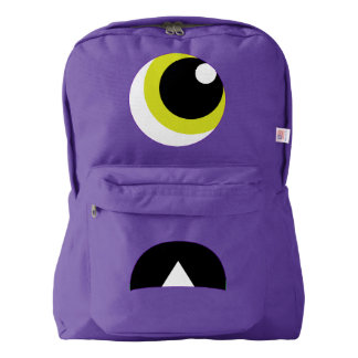Cute Scared Monster Backpack for Kids