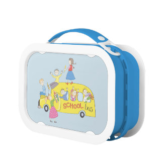 Cute School Bus Kids Lunchbox