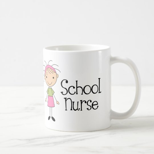 Cute School Nurse Coffee Mug