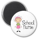 Cute School Nurse Magnet