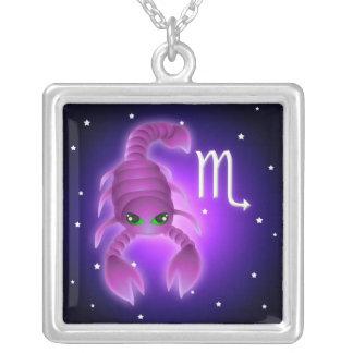 Cute Scorpio Zodiac Custom Necklace