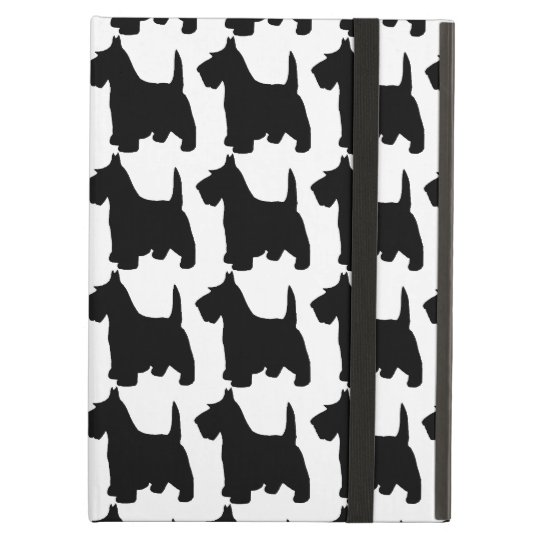 Cute Scottie Dog Scottish Terrier Pattern iPad Air
