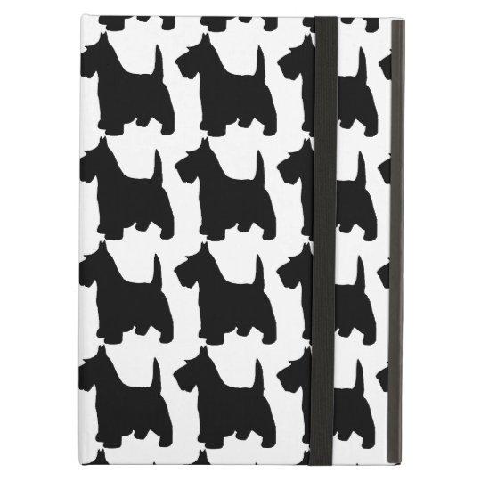 Cute Scottie Dog Scottish Terrier Pattern iPad Air