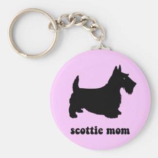 Cute Scottie Key Chain
