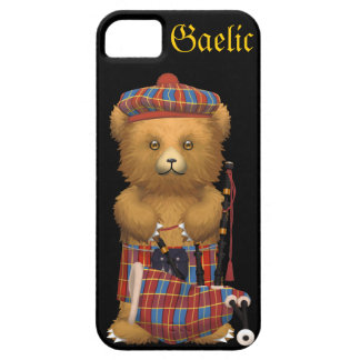 Cute Scottish Teddy Bear - Gaelic iPhone 5 Covers