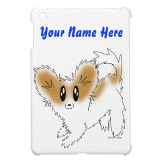 Cute Scruffy Papillon Puppy Dog iPad Mini Cases