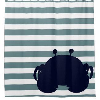 Cute Sea Animal Nautical Ocean Nursery Decor Shower Curtain