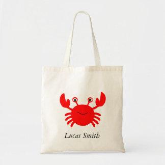 Cute Sea Crab Kids Tote Bag