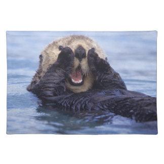 Cute Sea Otter | Alaska, USA Placemat