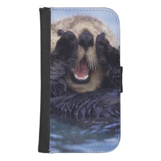 Cute Sea Otter | Alaska, USA Samsung S4 Wallet Case