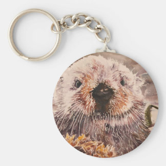 Cute Sea Otter Keychain Gift