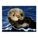 Cute Sea Otter Post Card
