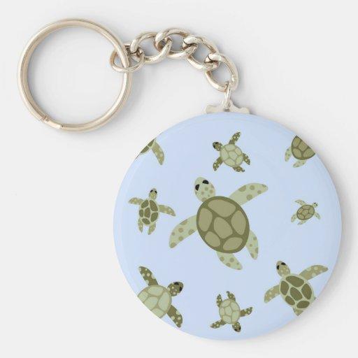 Cute Sea Turtles Key Chain