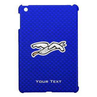 Cute Seagull; Blue iPad Mini Covers