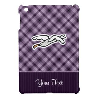 Cute Seagull; Purple Case For The iPad Mini