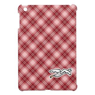 Cute Seagull; Red Plaid iPad Mini Cases