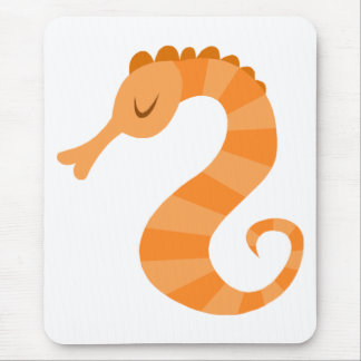 Cute Seahorse Mousepad