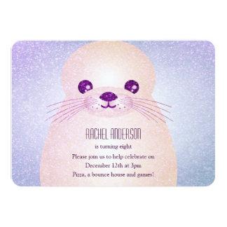 Cute Seal Party Invitation