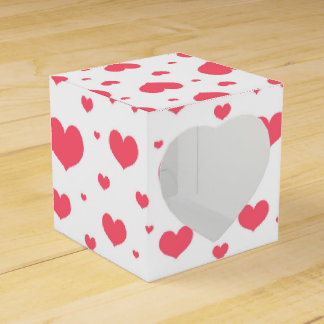 Cute seamless pattern Valentines day Favour Box